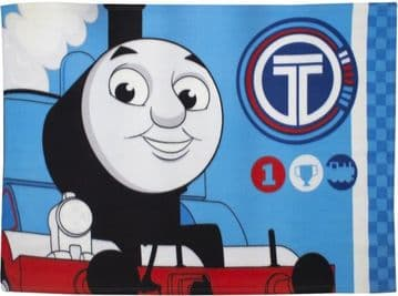 "Thomas the Tank ""Winner"" Character Fleece Blanket Snuggle Throw"
