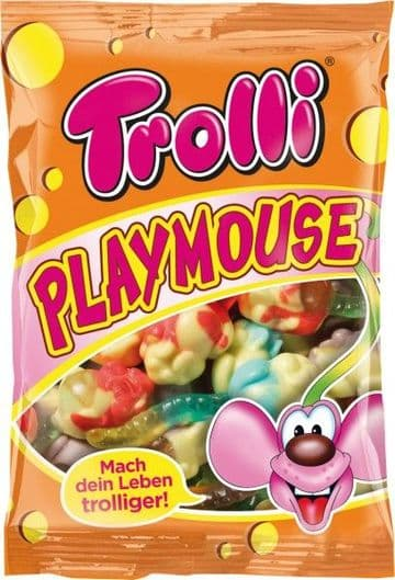 Trolli Playmouse 200g packets (Germany)