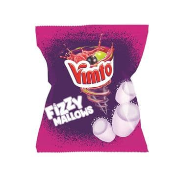 Vimto Fizzy Mallows Bags 100g Packet ( UK )
