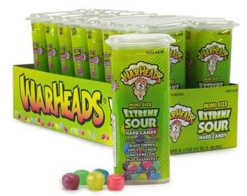 Warheads Minis Extreme Sour Hard Candy (49g) (US)
