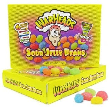 Warheads Sour Jelly Beans Theatre Box (US)