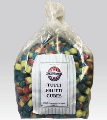 Williams Tutti Frutti Cubes 100g (UK)