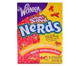 Wonka Nerds Double Dipped Lemonade Wild Cherry & Apple Watermelon (US)