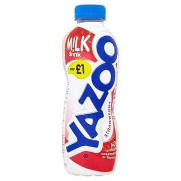 Yazoo Strawberry 400ml (UK)