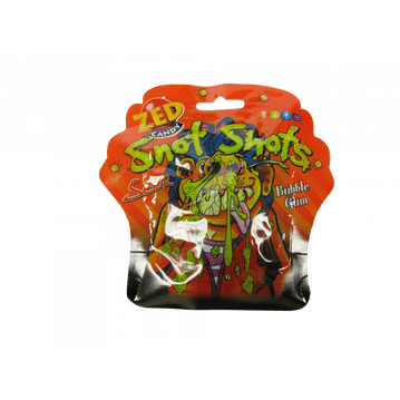 Zed Candy Snot Shots Sour Bubblegum 30g ( Ireland )
