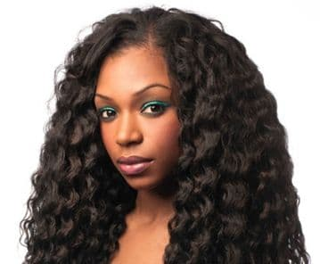 "FREEDOM WEAVE - SLEEK NOBLE GOLD SYNTHETIC HAIR WEAVE 14"" / 18"""