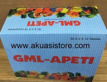 GML - APETI TABLETS  (50 X20) WHOLESALE