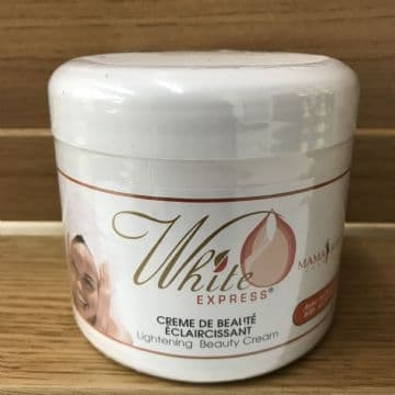 WHITE EXPRESS MAMA  AFRICA  LIGHTENING BEAUTY PRODUCTS