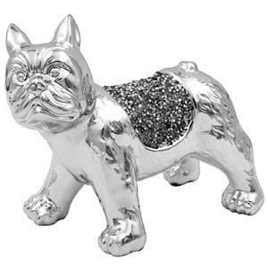 Crystal French Bulldog Ornament