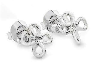 Lucy Q Silver Mini Splash Studs