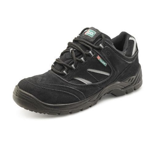 Black S1P Safety Trainer Shoe Available in UK Size 4 to 13