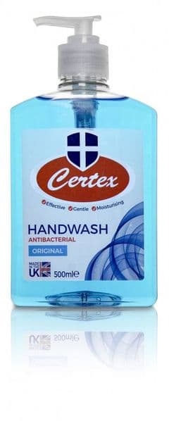 Certex Anti-Bacterial Handwash Original 500ml Pump Top