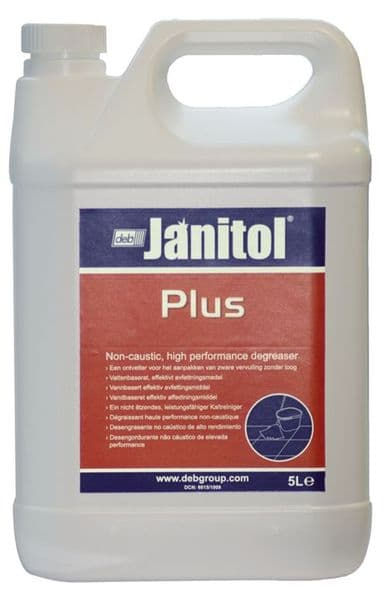 Deb JNP604 Janitol Plus Heavy Duty Surface Degreaser 5L
