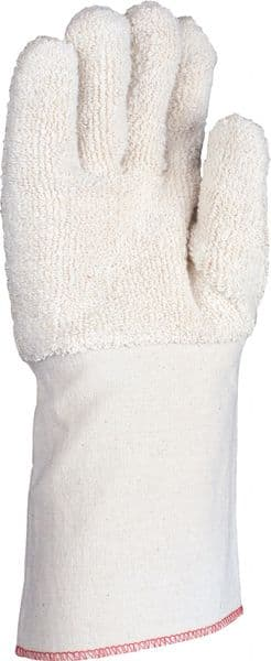 Heat Resistant Terry Gauntlet With Extended Canvas Cuff (1)