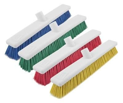 Washable Broom 45cm Soft Bristles For Indoor and Outdoor Use