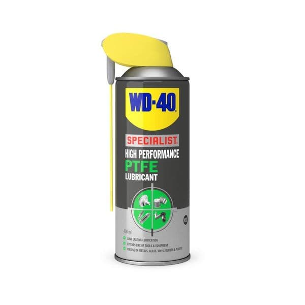 WD40 44397 High Performance PTFE Lubricant 400ml Can