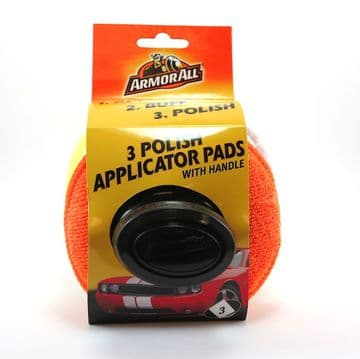 ArmorAll 3 Step Polish Applicator Pads with Handle