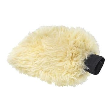Chemical Guys Bear Claw Premium Wash Mitt Scratch Resistant Synthetic Wool Fur