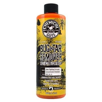 Chemical Guys Bug & Tar Remover Heavy Duty Fast Acting Car Wash 473ml/16oz