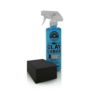 Chemical Guys Clay Block Kit - Clay Block & Clay Luber - The Fastest Way To Clay