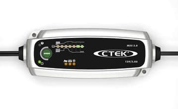 CTEK Smart Battery Charger MXS 3.8 with Unique 7 Step Charging