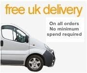 FREE UK DELIVERY on ALL Orders! No Minimum Spend Required