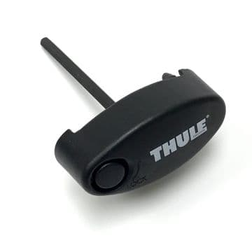 Genuine Thule Replacement Lockable End Cap 50007 For 775 Load Carrier Foot Pack