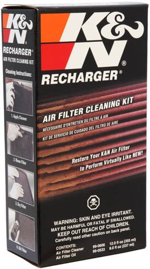 K&N Air Filter Cleaning Kit Recharger 99-5050