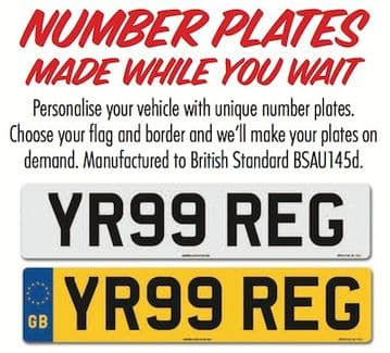 Number Plate Information