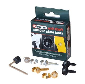 Richbrook Anti Theft Number Plate Bolts 100060