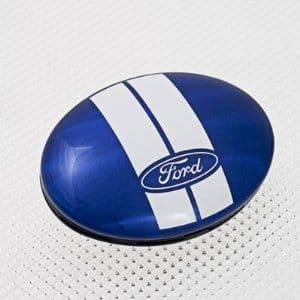 Richbrook Poppy Coral Ford Logo Air Freshener 550010