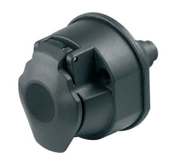 Ring 13 Pin Plastic Towing Socket with Seal A0032