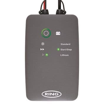 Ring Advanced Smart Battery Charger 12V, 6A for Car, Caravan & Motorhome RSC706
