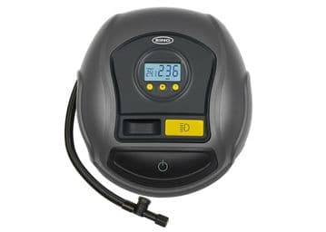 Ring Digital Tyre Inflator Compressor With Auto Stop For Cars & Bikes 12V RTC500