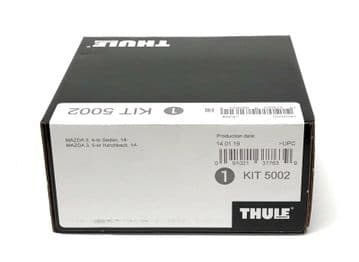 Thule Evo Fitting Kit 5002 Mazda 3, 4/5 door 2014 on No Pre-Existing Attachments