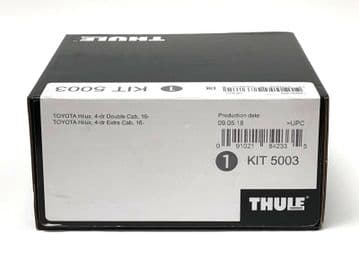 Thule Evo Fitting Kit 5003 Toyota Hilux Double Cab 2016 on With Normal Roof