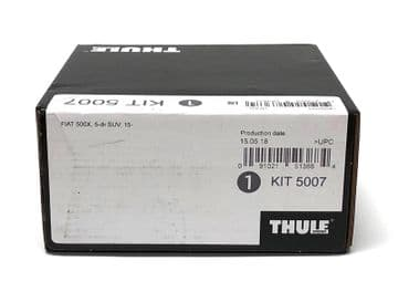 Thule Evo Fitting Kit 5007 Fits Fiat 500X 5 Door SUV 2015 on With Normal Roof