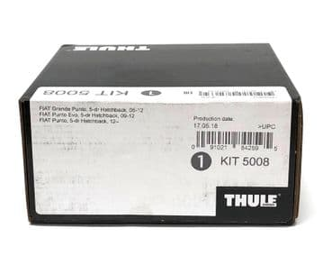Thule Evo Fitting Kit 5008 Fits Fiat Punto/Evo/Grande Punto With Normal Roof