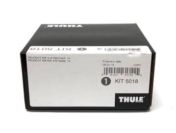 Thule Evo Fitting Kit 5018 Peugeot 308 Without Pre-Existing Roof Attachments