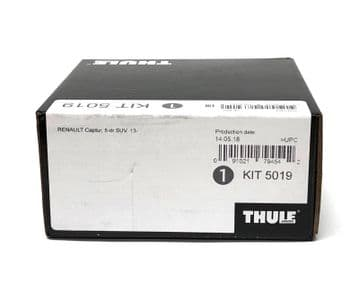 Thule Evo Fitting Kit 5019 Fits Renault Captur SUV 2013 on With Normal Roof