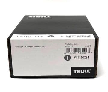 Thule Evo Fitting Kit 5021 Fits Citroen C4 Picasso MPV 2014 on With Normal Roof