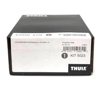 Thule Evo Fitting Kit 5023 Fits VW Golf Sportsvan  MPV 2014 on With Normal Roof