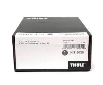 Thule Evo Fitting Kit 5030 Fits Volvo S60 Saloon 2010 on With Normal Roof
