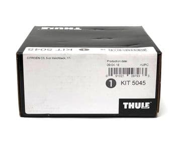 Thule Evo Fitting Kit 5045 Fits Citroen C3 Hatchback 2017 on With Normal Roof