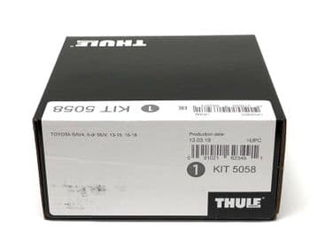 Thule Evo Fitting Kit 5058 Toyota RAV 4 2013-18 With No Pre-Existing Attachments