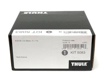 Thule Evo Fitting Kit 5083 Audi A6 Saloon 11-18 With No Pre-Existing Attachments