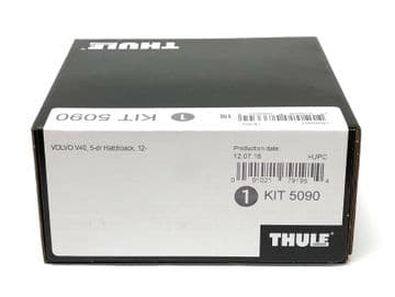 Thule Evo Fitting Kit 5090 Volvo V40, 2012 on Without Pre-Existing Attachments