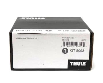 Thule Evo Fitting Kit 5098 Fits Nissan Juke 5 Door SUV 2010 on With Normal Roof