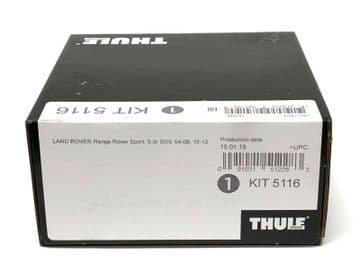 Thule Evo Fitting Kit 5116 Range Rover Sport 2004-13 No Pre-Existing Attachments