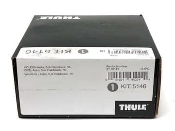 Thule Evo Fitting Kit 5146 Vauxhall Astra 5-dr 2016- No Pre-Existing Attachments